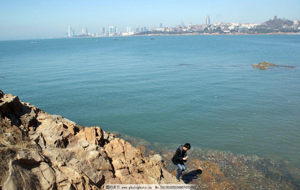青岛海边风景图片