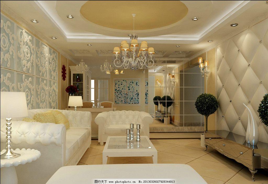 室内设计 客厅 客厅背景墙 电视背景墙 落地窗 沙发 茶几 室内设计