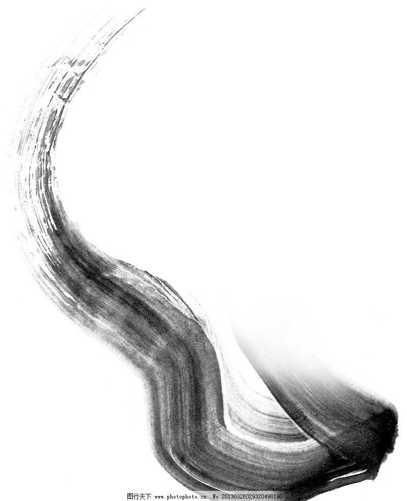 水墨笔画素材图片