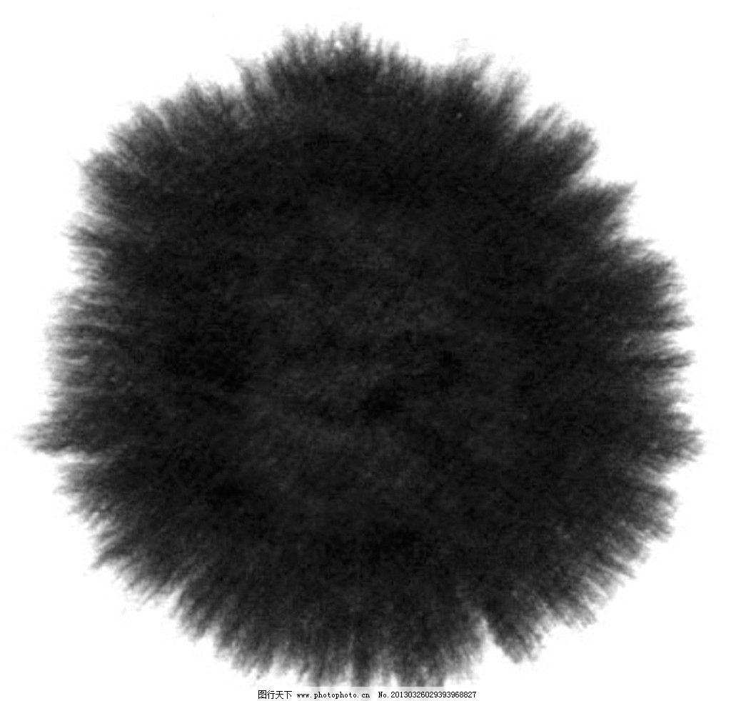 水墨笔画素材 黑 白 灰 国画 笔触 墨点 发散 画册设计 广告设计 设