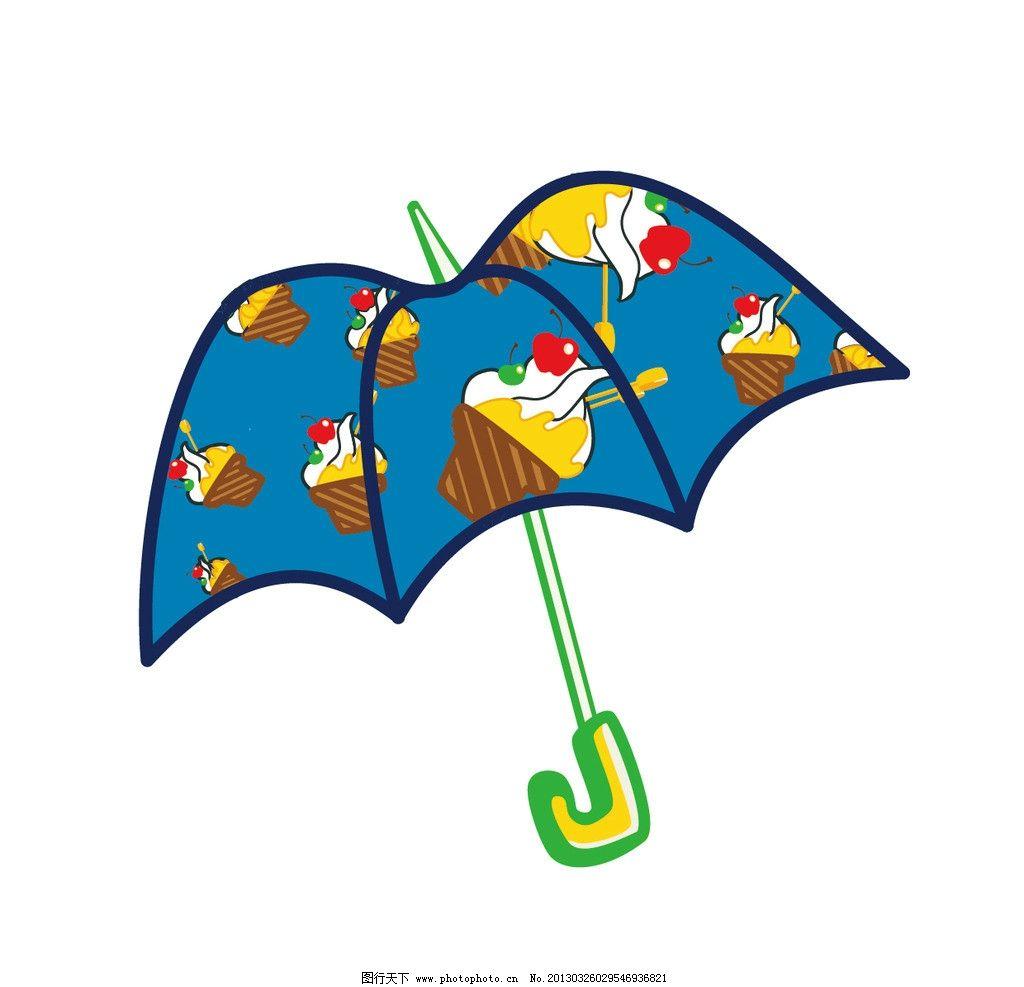 幼儿园小班雨伞蜡笔画