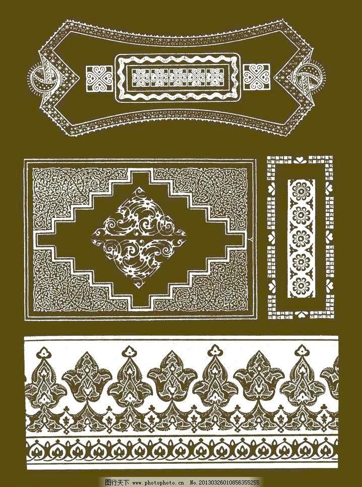 300dpi psd psd分层素材 边框 传统 底纹 花边 花卉 花纹 吉祥纹样