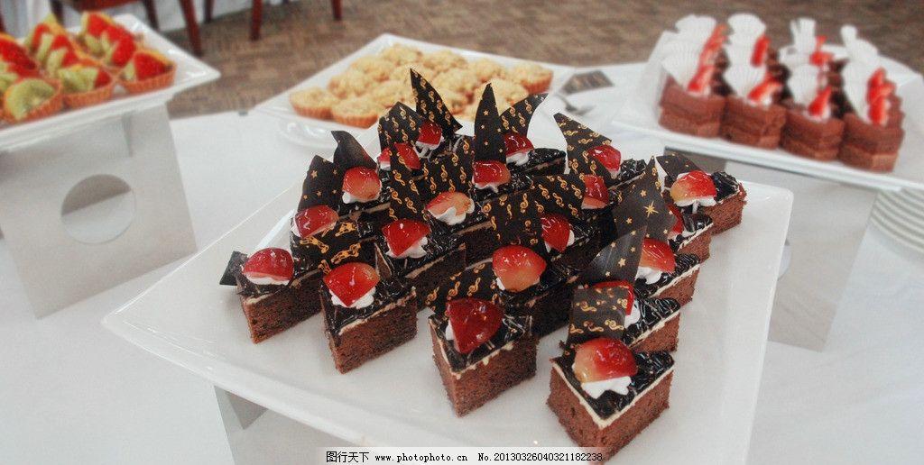 慕斯/慕斯 茶歇 巧克力水果糕点图片