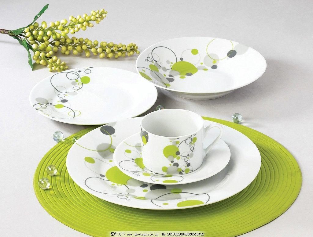 餐具 高清 花朵 生活 摄影 几何 图形 餐具厨具 餐饮美食 300dpi jpg