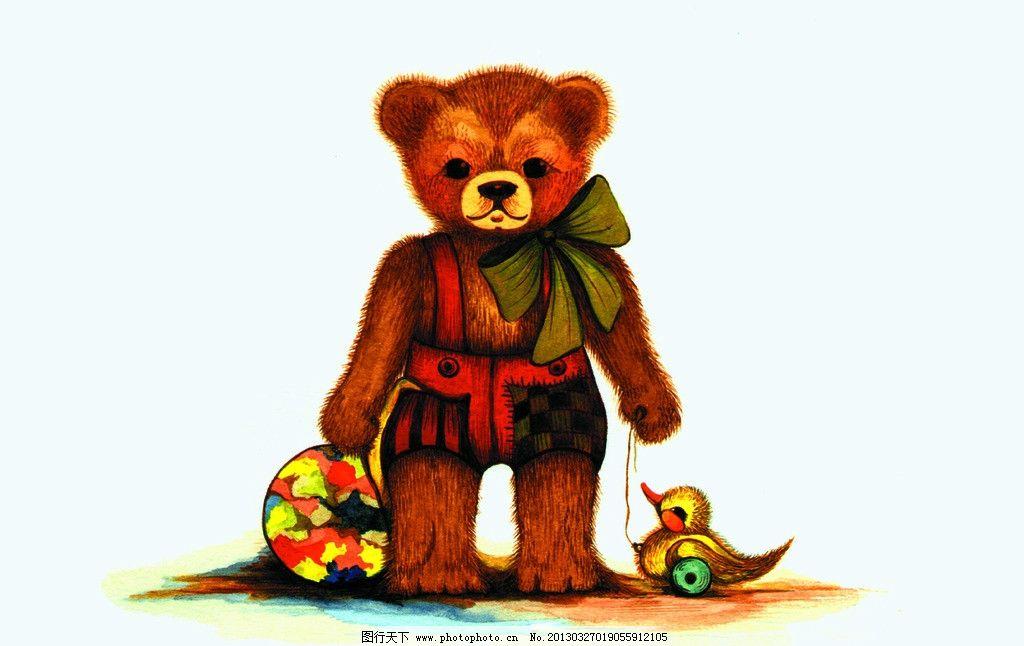 熊手绘图片