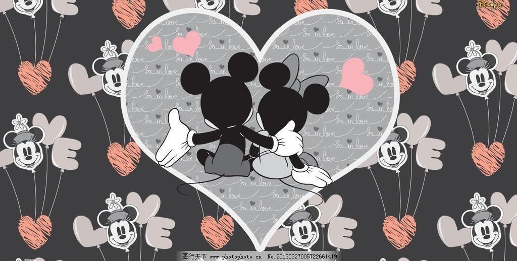 米奇米妮模板下载 米奇米妮 卡通 米老鼠 壁纸 迪士尼 米奇 米妮 可爱