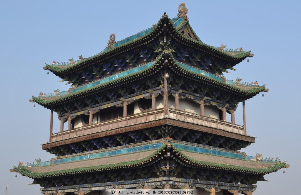 平遥古城 古建筑 中式 元素 国内旅游 摄影
