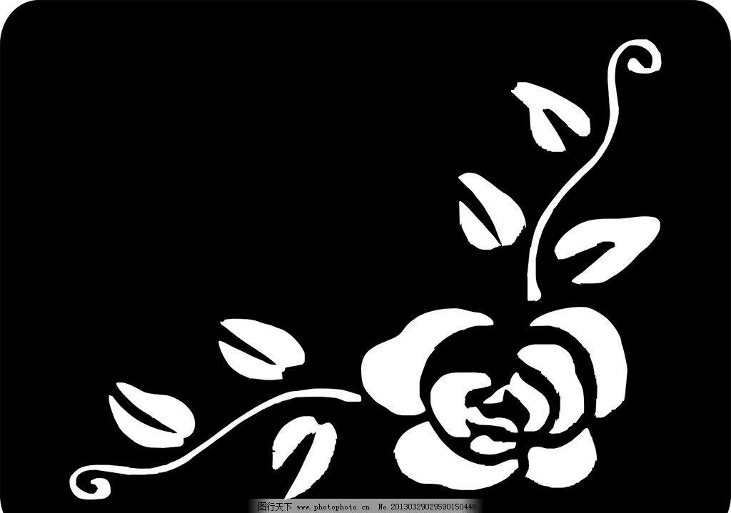 雕刻图案 雕刻 图案 镂空 花纹 花藤 广告设计 矢量 eps