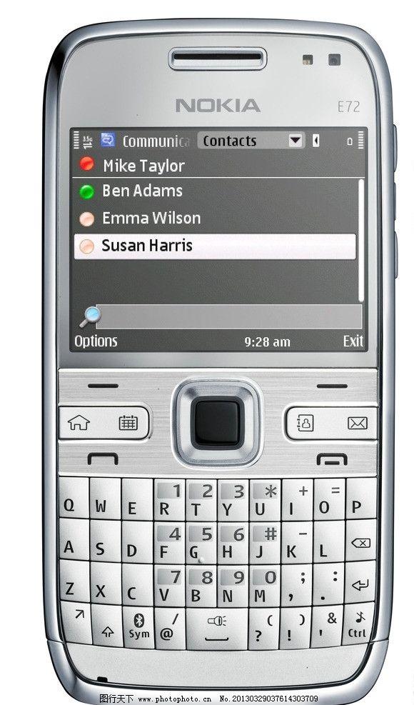 诺基亚 按键式 手机图片,直板型 显示屏 电脑键盘按键