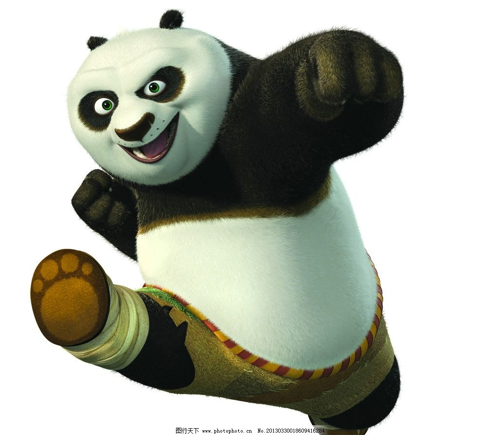 功夫熊猫图片_其他_动漫卡通_图行天下图库