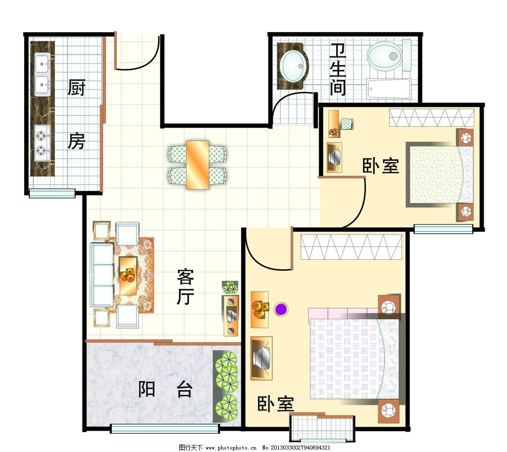 室内平面图设计图片