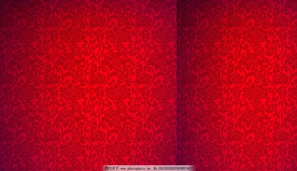 红色底纹背景 底纹 花纹