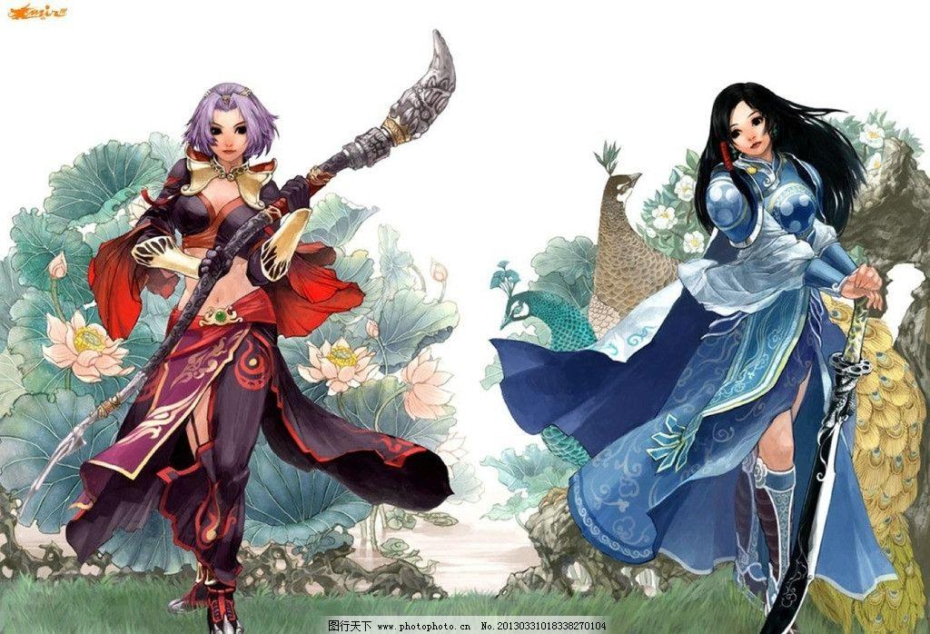 游戏人物设计图片