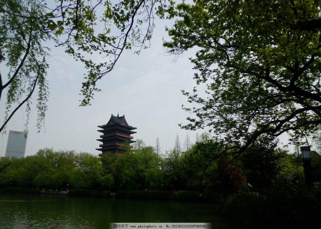 包河旅游风景图片 合肥